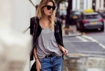 "All About The ""Boyfriend"" Jean / Do you love boyfriend jeans Find great outfit ideas featuring boyfriend jeans here."