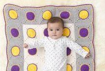 Crochet Baby Blankets / by Lion Brand
