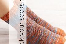 Rock Your Socks Off / Crafts for cozy feet that will rock your socks off! Find patterns and inspirations for knit and crochet socks and slippers.