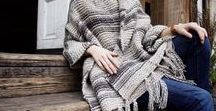 Knit & Crochet for Women / Crochet shawls, shrugs, tops, dresses, sweaters, cardigans and more!