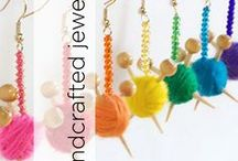 Handcrafted Jewelry / Jewelry and accessories to knit, crochet, and craft!