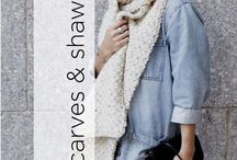 Scarves & Shawls / Knit and crochet scarves & shawls for men, women, and children. Many of these are great projects for beginners!