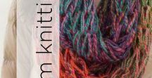 Arm Knitting / Featuring some of our favorite arm knit patterns.
