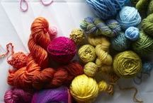 Featured Yarns / Don't miss these project ideas for our featured yarns! Save 20% on new yarns every month - shop now at lby.co/FeaturedYarns / by Lion Brand