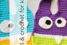 Knit & Crochet for Kids / Knit & Crochet for babies and children.