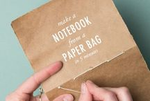 Bookkeeper / Making one's own notebooks, sketchbooks, and journals.