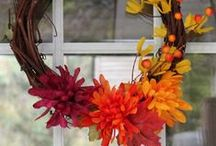 Fall Decorating ideas / Gorgeous Fall decor ideas which I would like to try! Some are DIY, wreaths, pumpkins and fall table decorations. I'm on the hunt! / by SoberJulie