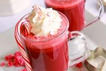 Non Alcoholic Christmas Drinks / If you're hosting or attending Christmas parties you'll appreciate these non alcoholic Christmas Drink recipes. During the Holidays we want to encourage responsibility to the drivers among us, so serve a delicious Mocktail! / by SoberJulie