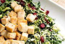 eat salad.
