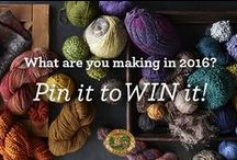 Your Yarn Style, Pin to Win! / What are you knitting or crocheting in 2016? Pin the pattern for a chance to win the Lion Brand® yarn to make it! Visit for details: http://offerpop.com/pinterest/inspiration/8708 / by Lion Brand
