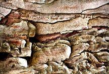 structuren / Waar zie je structuren, in welke materialen.