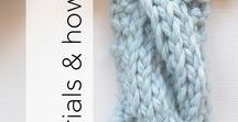 Tutorials & How To's / Want to try a new stitch or are you having trouble reading a pattern? This board has got you covered! From knit and crochet stitches, to weaving and setting up a loom - learn how to do it all here!