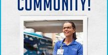 We ♥ Our Community! / Our Mission is to improve the health of all we serve.