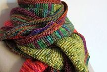 Knots: Wrapper's Delight / Cozy wraps, shawls and scarves on my knitgeek list...