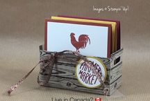 Stampin' Up! 3D Projects / 3 Dimensional projects created using Stampin' Up! stamps, paper, ink, tools and embellishments.