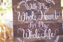 Wedding Ideas 6.27.15 ❤️