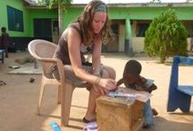 Volunteer in Ghana / International Volunteer HQ (IVHQ)  has a wide range of highly affordable volunteering opportunities available in orphanage work, teaching, medical placements, agriculture and sports programs in the coastal city of Accra and rural villages in the Ghanaian countryside. / by International Volunteer HQ