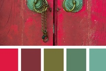 Design Seeds -Colour Palettes  / Thanks to Jessica Colaluca of www.design-seeds,I can now collect eye catching colour combinations and use them as inspiration for my work.