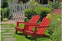 Share Landscaping Ideas / Have the perfect yard. Learn how to plant and maintain flowering trees, shade trees, shrubs, evergreen screens, hedges and garden beds.  Get plans and how-to guides to help you create your own walks, steps, patios, arbors, screen walls, retaining walls, fences, garden gates and more. Make sure to pin the ideas that you like to your own board, so you'll have landscaping help when you need it.