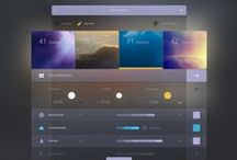 Design: Software UI + UX / Inspirations for designers