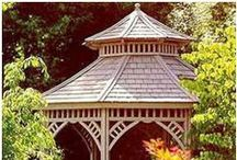 Backyard Plans & Kits / Find DIY Project Plans, Building Kits, Prefabs, Components and Inspiration to Help You Build a Gazebo, Pergola, Outdoor Furniture, a Deck, a Birdhouse, a Dog House, or Whatever You Need in Your Backyard.  / by Don @ Today's Plans