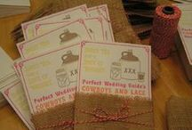 Invitations / Wedding Invitation idea's / by Lakeside Weddings