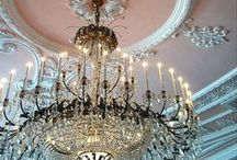 Chandeliers and Ceilings / Angela East - The Home DIY and Decor Addict