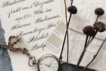 WEDDING STATIONARY / wedding invitations, hochszeitseinladungen
