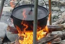 Share Campfire Cooking Ideas / Does anything taste quite as good as a hot meal or delicious desert cooked over an open flame? Here are some great recipes for campers and hikers, and to use on backyard fire pits too. Make sure to save your favorite recipes to your own boards so that your followers and friends can enjoy them too.