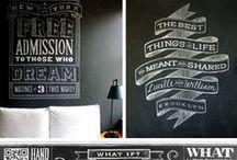 CHALKBOARD LETTERING / a collection of inspiring chalkboard letterings