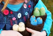 Montessori Easter Ideas / Looking for great Easter ideas and activities to do with your child. We've got great examples of crafts that are easy to make.