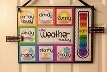 Montessori Weather / Teaching little ones about the weather the Montessori way.