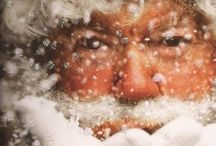 Christmas/ Santas Now and Then / by Susan Akers