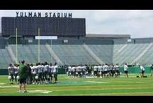 Game day! / The boys are back uptown at Yulman stadium! / by TruTU