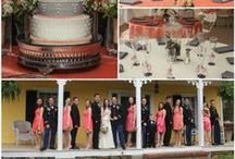 1812 Hitching Post {Wedding Color Inspirations} / Inspirational color palettes provided by the 1812 Hitching Post Wedding Venue!