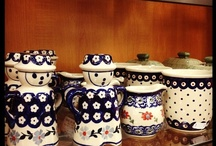 Polish Pottery & other handpainted finds