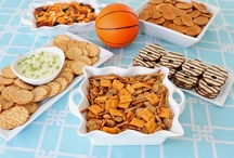Basketball Party Food / We have recipes to feed the crowd at your next basketball party. / by Snackpicks