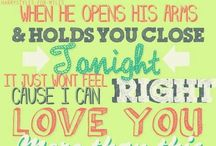 1D Lyrics / by Lolipoptalia Lucas