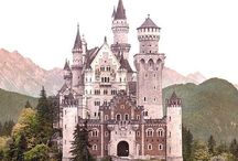 Castle, Cottage & Sea Cave / Home is where the heart is and we are all royals by birthright. Fill your home with love and light to create the life you desire ~~~* / by Dana Mermaid