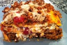 Next to try low carb recipes / by Donna Osbron