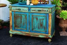 Furniture / I have discovered chalk paint and acrylics on furniture. How cool is that? / by Lynn Speegle