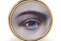 Lovers Eye/Mourning Jewelry / by Susan Akers