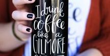 Gilmore Girls   Products / Gilmore Girl Products, including apparel and mugs. Handlettered by Rosalynne Love and available at www.rosalynnelove.com   Other GG related items.