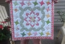 Quilts - simple designs for doll quilts