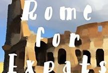 Rome for Expats / Rome for Expats is for every English speaking expat living (or dreaming of living) in Rome.  Download the ebook now and find out who I think is the best English speaking hairdresser and dentist and where to find cheddar cheese and tacos.