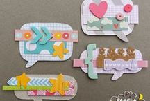 DECORATIONS AND EMBELLISHMENTS SCRAPBOOKING / Scrapbooking project and other craft for decorations and embellishments