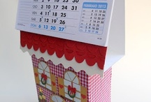 CALENDARS / Scrapbooking project and other craft for calendars