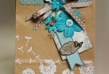 DECORATION BAG / Scrapbooking project and other craft for decoration bag