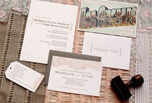Vintage // Romatic Invitations