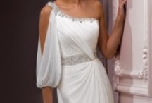 Draped/Grecian Wedding Dresses